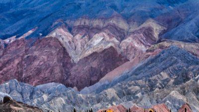 Farbige Berge vor Cafayate